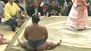 平成25年秋場所4日目 シッ! シッ! シッ! フォウッ!! sumo 大相撲.