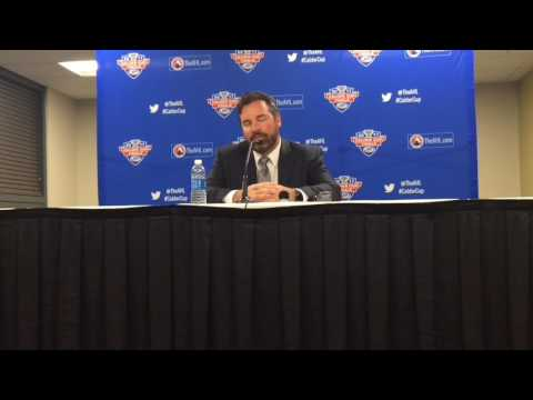 Griffins coach Todd Nelson after Game 2 win
