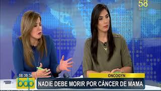 Nadie debe morir por cáncer de mama