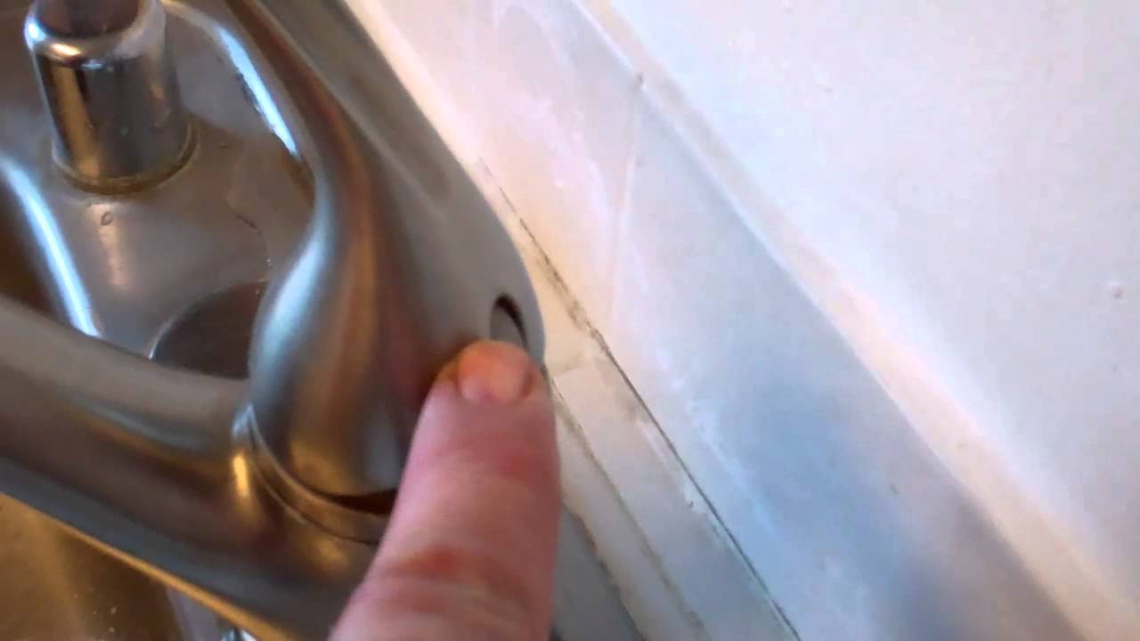 Leaking Kohler Kitchen Faucet part 1 - YouTube