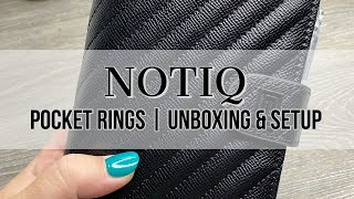 NOTIQ Pocket Rings | Unboxing & Setup