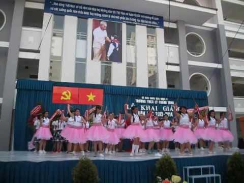 The Mctoiyeu VĂN NGHỆ KHAI GIẢNG NĂM HỌC 2013-2014 TRƯỜNG THCS LÝ THÁNH TÔNG Q8