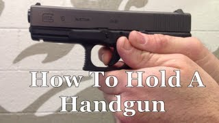 Survival Skills 101: How To Hold A Semi-Auto Handgun like a Pro!