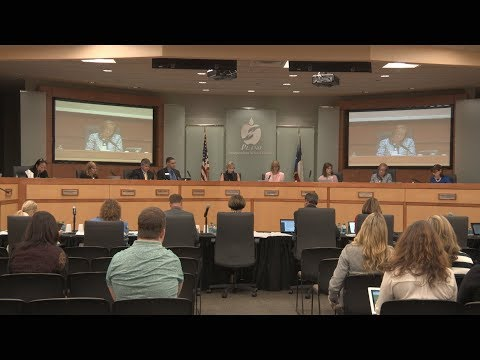 School Board Meeting - September 4, 2018 - Part 1