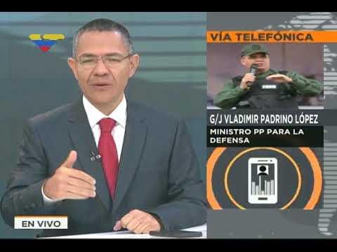 Vladimir Padrino sobre captura de 2 responsables de ataque al Fuerte Paramacay