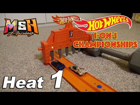 Hot Wheels Tournament: One-on-One Racing Championships - Heat 1