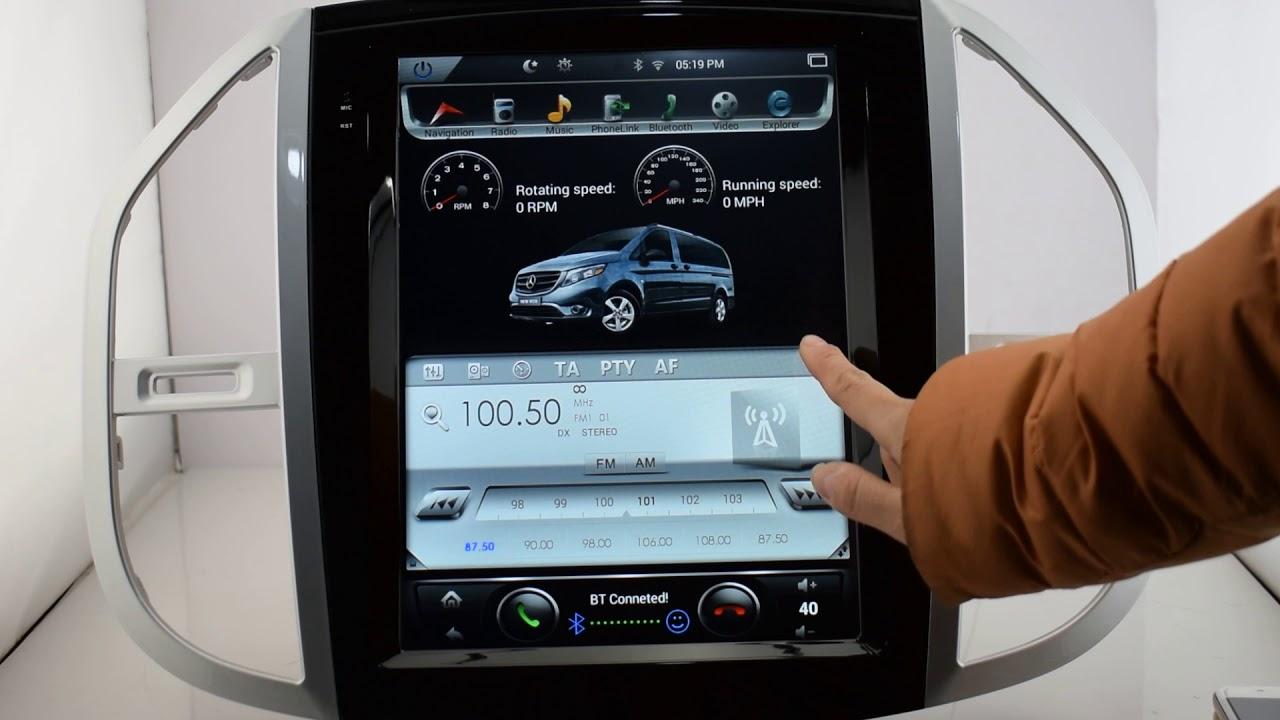 kirinavi vertical screen tesla style 12 1 android car gps. Black Bedroom Furniture Sets. Home Design Ideas