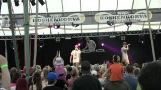 JVG - Jare & VilleGalle - Pienissä häissä (Live 27.07.2011 @ Koskenkorva 100-v Festivaali)