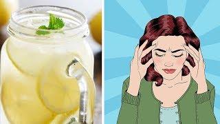Wie Zitronensaft mit Himalayasalz Migräne innerhalb von Minuten stoppen kann!