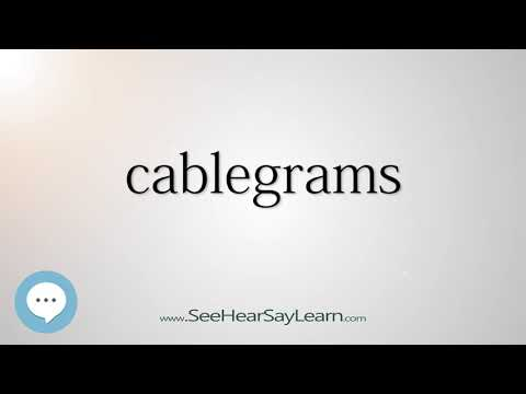 cablegrams