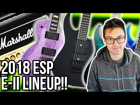 2018 Marshall DSL Amps, New ESP E-II Lineup & Jackson Pro Series Mick Thomson Soloist?! || ASKgufish