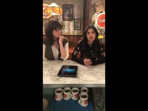 Diane Guerrero and Katey Sagal on Superior Donuts FB Live