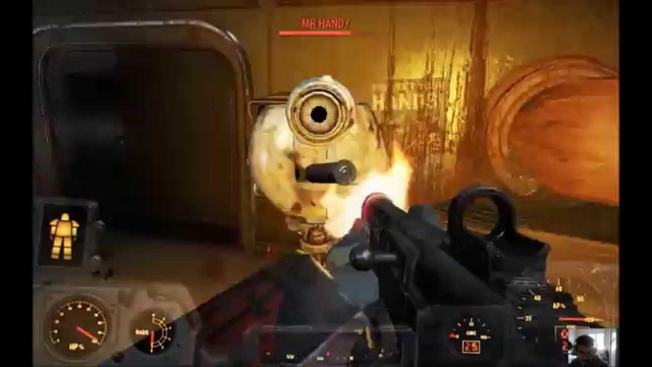 fallout 4 war machine