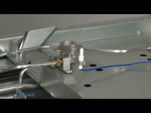 KitchenAid Convection Gas Range Spark Electrode Clip Replacement - Model #KSGB900ESS1