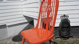 REFINISHING WOOD CHAIRS THE EASY WAY thumbnail