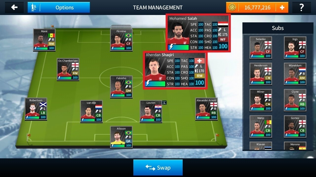 f9a78d329 How To Hack Liverpool Team 2018 2019 ○ All Players 100 ○ Dream League  Soccer 2018)