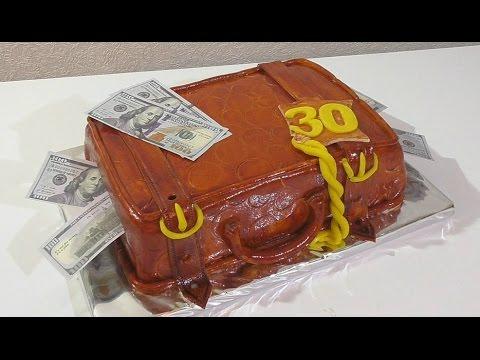 торт фото чемодан с деньгами