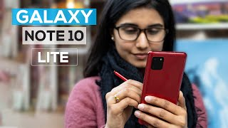 Samsung Galaxy Note 10 Lite Review: After 24 hours!