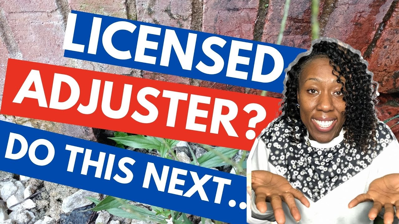 YOU PASSED! Do This AFTER the Claims Adjuster Exam   (easier than you think)