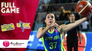 Castors Braine v ZVVZ USK Praha - Full Game - EuroLeague Women 2019-20