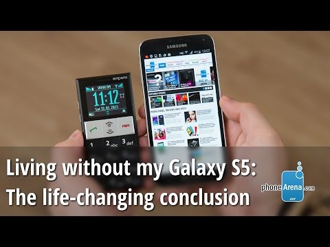 Living without my Galaxy S5: life-changing conclusion