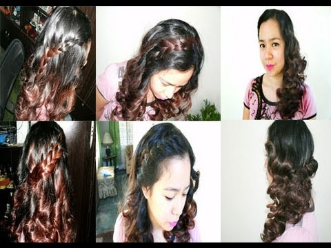 5 Easy Cute Birthday Hairstyles Back To School Hairstyles Curly