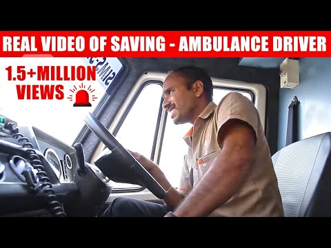 108 Ambulance Drivers - Real Video of Saving Patients (Tamil)