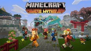 Minecraft Chinese Mythology Mash Up Pack Trailer