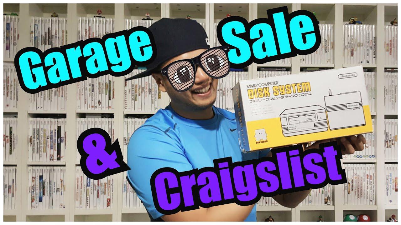 Neighborhood Garage Sale Quickie & Craigslist Score - YouTube