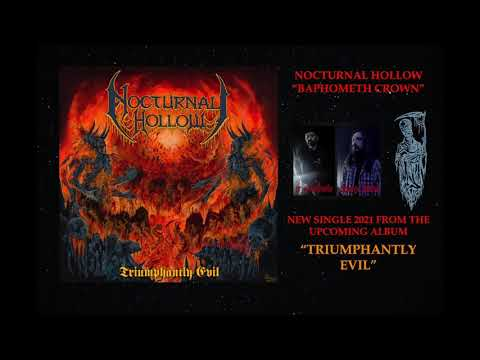 Nocturnal Hollow   Baphometh Crown (2021)