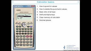 Introduction to FC-200V Calculator