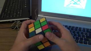 Как собрать кубик рубика. Урок 2 - сборка креста.