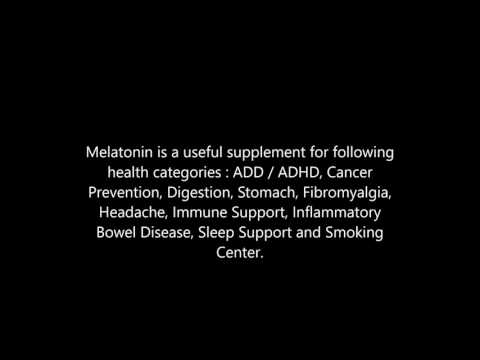 Melatonin health benefits