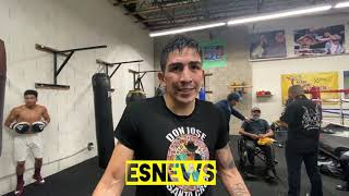 Leo Santa Cruz Candid Talks Gervonta Fight, Teofimo Lopez Loma And what's his plan after Tank Esnews