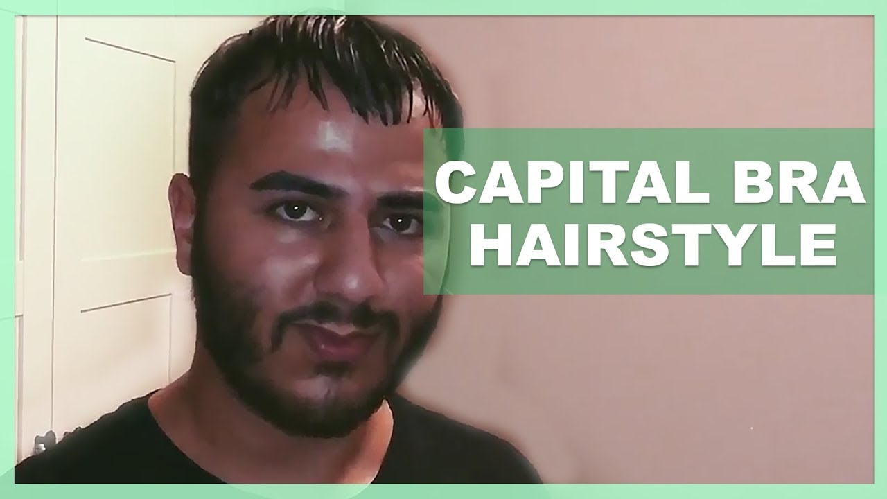 Capital Bra Hairstyle Tutorial Youtube