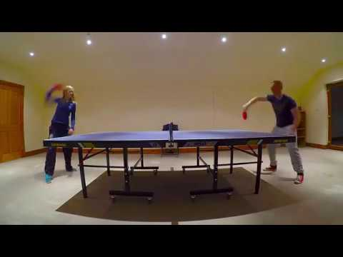 Table Tennis Time Lapse