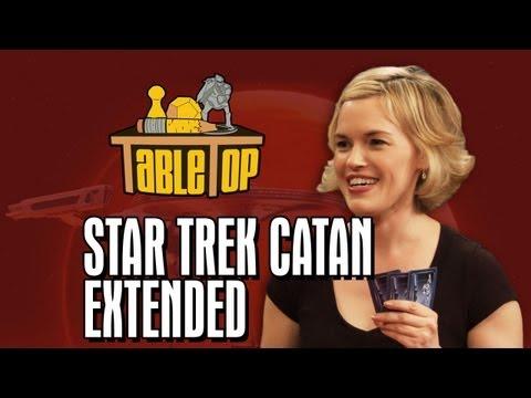 TableTop  Edition: Star Trek Catan Wil Wheaton, Jeri Ryan, Kari Wahlgren, Ryan Wheaton