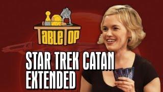 TableTop Extended Edition: Star Trek Catan (Wil Wheaton, Jeri Ryan, Kari Wahlgren, Ryan Wheaton) Video