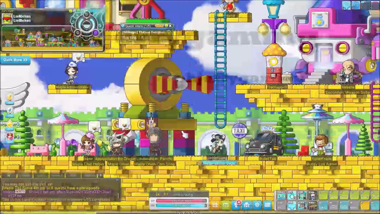 MapleStory Ho Young Day 3 not yet 4th job #3