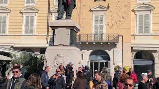 No Green pass: in piazza a Parma pochi manifestanti