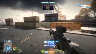 BF3 No scope feed, Using SV98