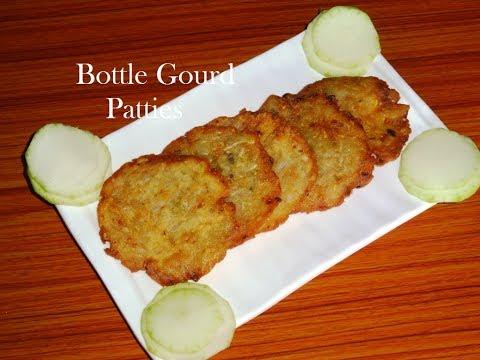 Bottle Gourd Patties Recipe/How To Make Sorakaya Appalu