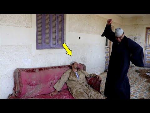 #14  الحاج مقطوش جنن صقر وخله يفقد الوعى  بسبب الحصان !! اتحداك انك تموت من ضحك!!