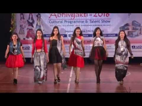 Fashiion Show In Abhivyakti 2016 By Uid Youtube