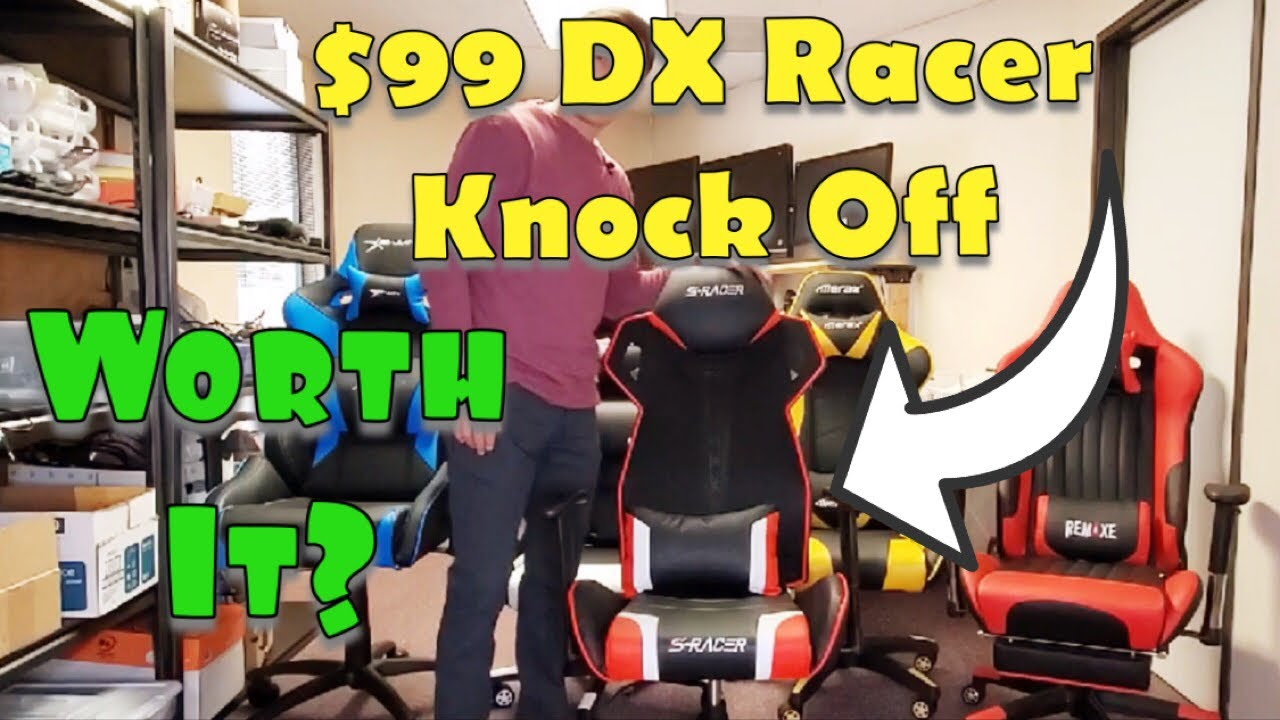 $99 DX Racer Knock Off Worth it? Homall S-Racer Racing Gaming Chair