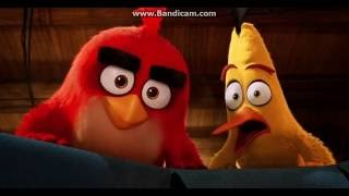 The Angry Birds Movie - Red, Chuck and Bomb found the Pigs