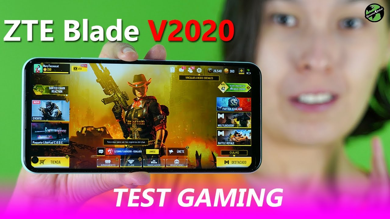 ZTE Blade V2020 Test Gaming | Consume Global