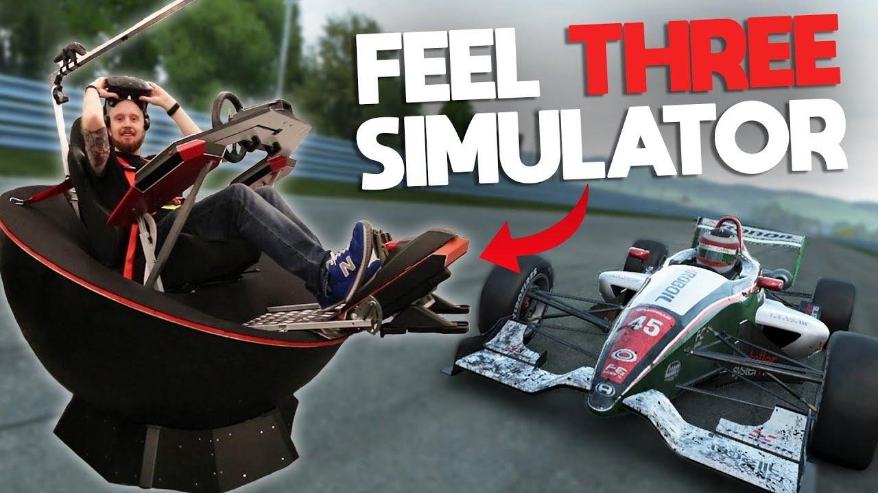 Feel Three : Virtual Reality Motion Simulator by Feel Three
