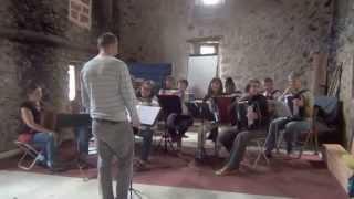Montpellier Accordéon – Stage Musique d'Ensemble Juin 2014