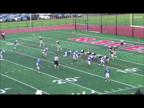 Joshua Woznicki #85  Class of 2021  South Hunterdon High School (NJ) 2018 Highlights (First Half)